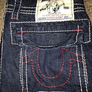True Religion Cutoff Shorts 28